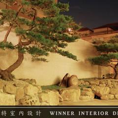 庭院:  禪風庭院 by 贏特室內裝修工程有限公司  Winner Interior Design