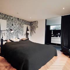 Redesign Schlafzimmer - Nachher: ausgefallene Schlafzimmer von HAUSSTATTER - REDESIGN & HOME STAGING
