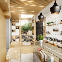 Commercial Spaces by Fachada Arquitectos