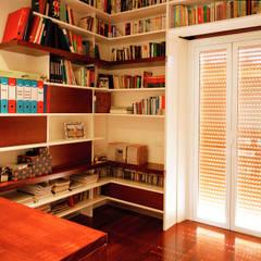 Ruang Kerja oleh officinaleonardo, Modern Kayu Wood effect
