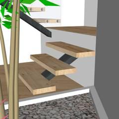 3D LOFT Jardins de Inverno modernos por ORCHIDS LOFT Moderno Granito