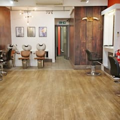 Urban Edge Hair Salon:  Commercial Spaces by Tara Cremer Designs