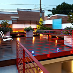 E Street:  Patios & Decks by KUBE Architecture