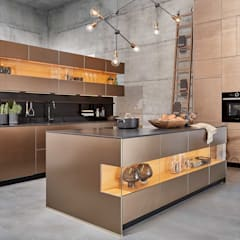 We recommend real materials:  Kitchen by CasaLife