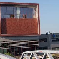 Headquarters Koopman International:  Kantoorgebouwen door TEKTON architekten