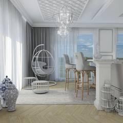 huśtawka w salonie: styl , w kategorii Jadalnia zaprojektowany przez Decostory