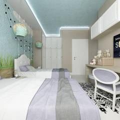 CASA FF: Stanza dei bambini in stile  di De Vivo Home Design