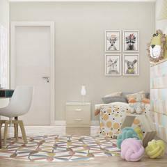 CASA CC: Stanza dei bambini in stile in stile Moderno di De Vivo Home Design