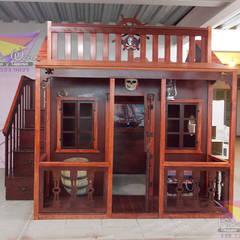 Fantástica casita estilo pirata: Recámaras de estilo  por camas y literas infantiles kids world