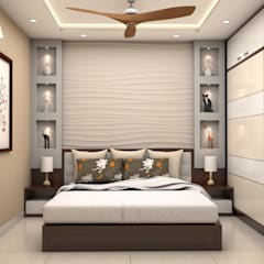 Bedroom by ARK Architects & Interior Designers,