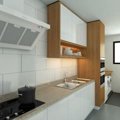 Stonor Luxury Condo:  Kitchen by inDfinity Design (M) SDN BHD