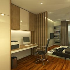 Stonor Luxury Condo:  Bedroom by inDfinity Design (M) SDN BHD