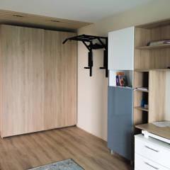 Chambre garçon de style  par Архитектурная мастерская Leto