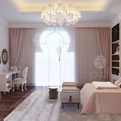 Dormitorios de estilo  por Spazio Interior Decoration LLC