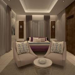 Guest bedroom :  Bedroom by dal design office