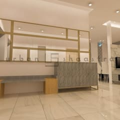 The Foyer:  Corridor & hallway by Urban Shaastra