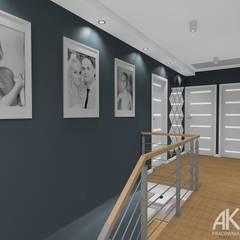 Escaleras de estilo  por AKAart Pracownia Projektowa