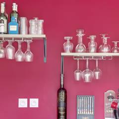 Aménagement d'intérieur maison neuve: Cuisine de style  par Agence 360 degrés