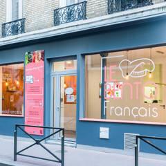 Aménagement restaurant Levallois Perret: Espaces commerciaux de style  par Agence 360 degrés