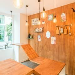 Aménagement restaurant Levallois Perret: Restaurants de style  par Agence 360 degrés