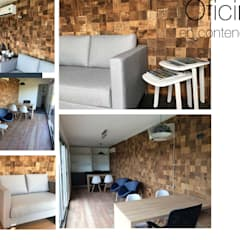 OFICINA COMERCIAL: Estudios y oficinas de estilo  por MARIAMOURATOGLOU