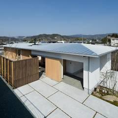 Projekty,  Dach zaprojektowane przez キリコ設計事務所