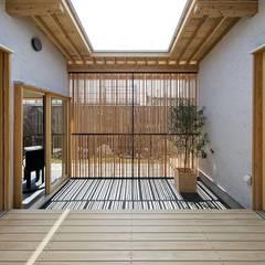 Garden by キリコ設計事務所, Asian