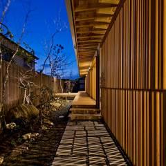 Jardines de estilo  por キリコ設計事務所