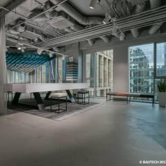 Biuro VESCOM : styl , w kategorii Biurowce zaprojektowany przez Bautech Sp. Z O.O.