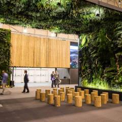 Greenarea recria paisagem dos Açores na BTL 2018: Centros de exposições  por Traços Interiores