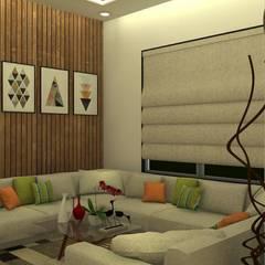 Wohnzimmer von The D'zine Studio