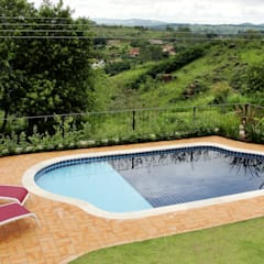 country Pool by Sergio Righetto Arquitetura Ltda