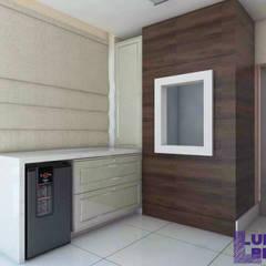 Churrasqueira 01: Cozinhas embutidas  por Luiza Broch Arquitetura e Design
