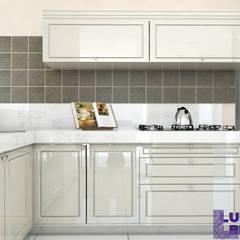 Cozinha 02: Cozinhas embutidas  por Luiza Broch Arquitetura e Design