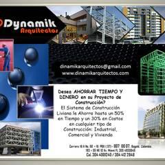Brochure Bodegas de estilo industrial de Dinamik Arquitectos Industrial Hierro/Acero