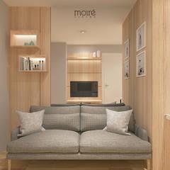 SMALL NOT TO SMALL: Ruang Keluarga oleh Moire Living,