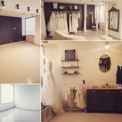 Perle Maison De Mariée: Salon de style de style Classique par Amandine Leblanc