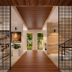 Sliding doors by The Page Interior & Design