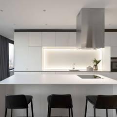 SKYLINE: Кухонные блоки в . Автор – MONO ARCHITECTS,