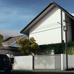 Eksterior:  Rumah by Atelier BAOU+