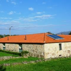 Projecto de Habitação Unifamiliar por Bigarquitectura Rústico