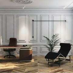дизайн квартиры: Рабочие кабинеты в . Автор – FILYANOV_INTERIOR