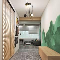 Residential:  Corridor & hallway by Designism
