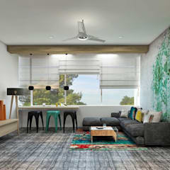 Residence:  Living room by Designism