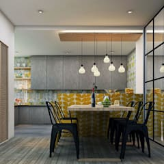 Residence:  Dining room by Designism