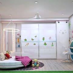 Residential:  Nursery/kid's room by Designism