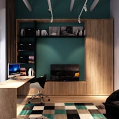 Boys Bedroom by FILYANOV_INTERIOR
