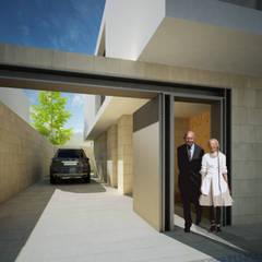HJS: Garagens e arrecadações  por Terra Arquitectos