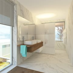 HHD: Casas de banho  por Terra Arquitectos