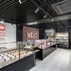 Дизайн интерьера продуктового магазина в стиле лофт: Офисы и магазины в . Автор – Art-i-Chok